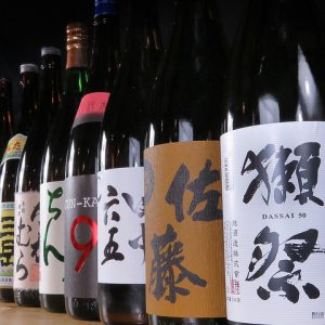 小倉にある日本酒が勢ぞろいする焼き鳥店【炭火肉焼き 大衆居酒屋 小倉やきとん酒場】