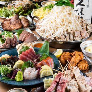 元祖やきとん酒場 小倉店では、個別盛りの鍋付きコースをご用意してます!